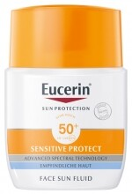 EUCERIN#Sun Sensitive Protect Mattító napozó fluid FF50+ (50 ml)